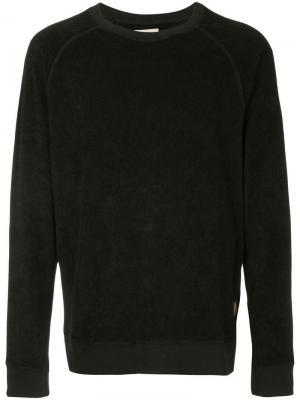 Толстовка свободного кроя Nudie Jeans Co. Цвет: черный