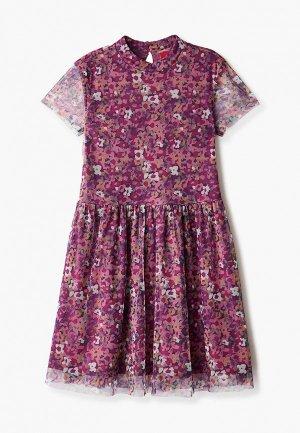 Платье s.Oliver. Цвет: фиолетовый