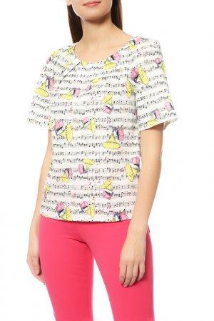 Блуза Ultrachic. Цвет: белый