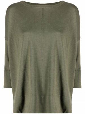 Блузка с рукавами три четверти Snobby Sheep. Цвет: зеленый