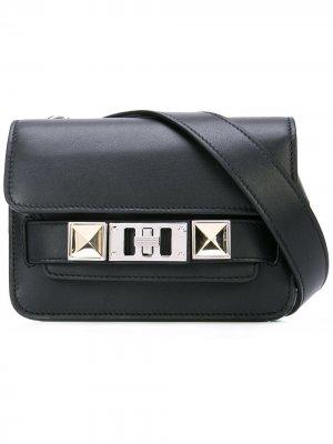 Поясная сумка Ps11 Proenza Schouler. Цвет: черный