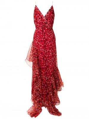 Платье макси Amabile Isolda. Цвет: красный
