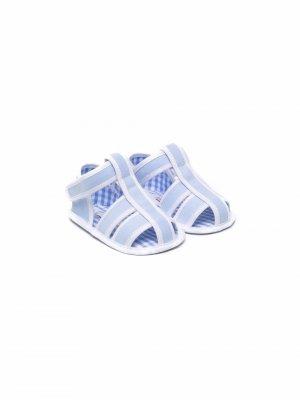 Сандалии с открытым носком Le Bebé Enfant. Цвет: синий