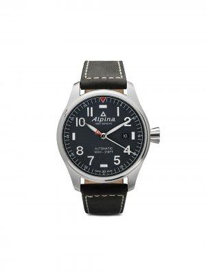Наручные часы Startimer Pilot Automatic 44 мм Alpina. Цвет: голубой