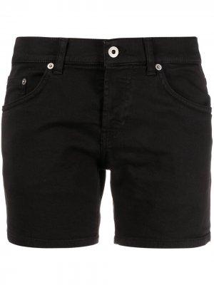 Джинсовые шорты скинни Dondup. Цвет: черный