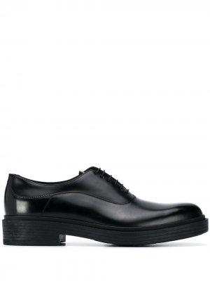 Туфли оксфорды Giorgio Armani. Цвет: черный