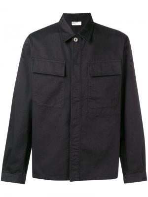 Cargo pocket twill shirt Universal Works. Цвет: черный
