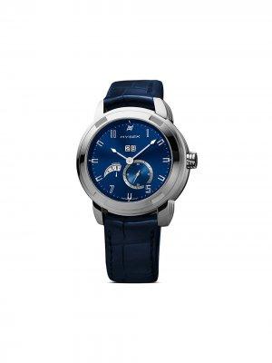 Наручные часы Annual Calendar 42 мм Jorg Hysek. Цвет: синий