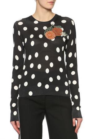 Джемпер Dolce & Gabbana. Цвет: черный