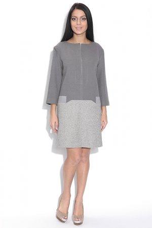 Платье Larro. Цвет: серый