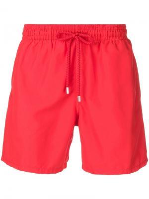 Базовые плавательные шорты Vilebrequin. Цвет: красный