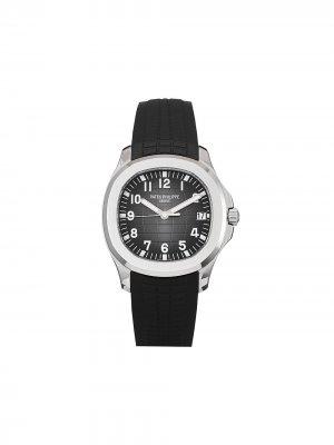Наручные часы Aquanaut pre-owned 40 мм 2019-го года Patek Philippe. Цвет: серый