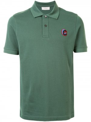 Рубашка поло с вышитым логотипом Cerruti 1881. Цвет: зеленый