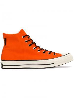 Хайтопы All Star 70 Goretex Converse. Цвет: оранжевый