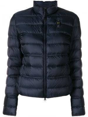 Padded jacket Blauer. Цвет: синий