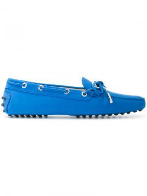 Мокасины Gommino Tod's. Цвет: синий