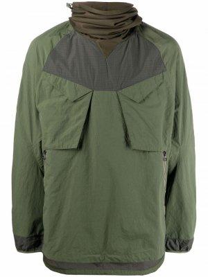 Куртка Riverine Tech Ghostface Maharishi. Цвет: зеленый
