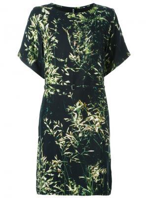 Платье Ebone Minimarket. Цвет: черный