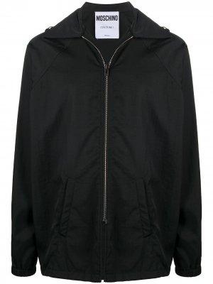 Ветровка с логотипом Moschino. Цвет: черный