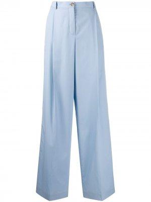 Расклешенные брюки Nina Ricci. Цвет: синий