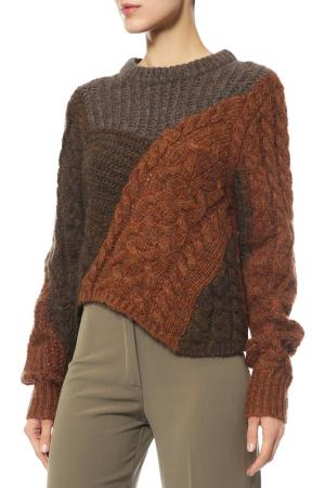 Пуловер ETOILE Isabel Marant. Цвет: rust