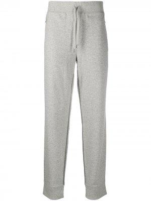 Спортивные брюки с контрастной отделкой True Religion. Цвет: серый