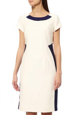 Платье MODART. Цвет: экрю