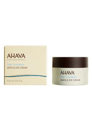 Легкий крем для кожи вокруг глаз AHAVA. Цвет: прозрачный
