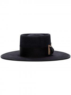 Шляпа Tournesel Nick Fouquet. Цвет: черный