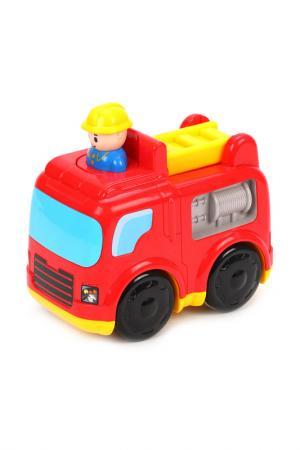 Инерционная игрушка ЖИРАФИКИ. Цвет: красный