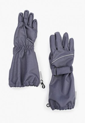 Перчатки Lassie. Цвет: серый