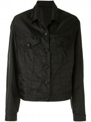 Куртка Erika на пуговицах RtA. Цвет: черный