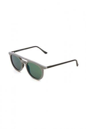 Очки солнцезащитные с линзами ITALIA INDEPENDENT. Цвет: 071 000 серый