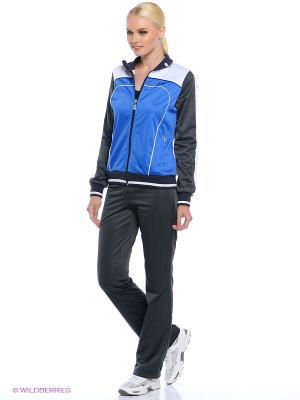 Спортивный костюм ADDIC. Цвет: голубой
