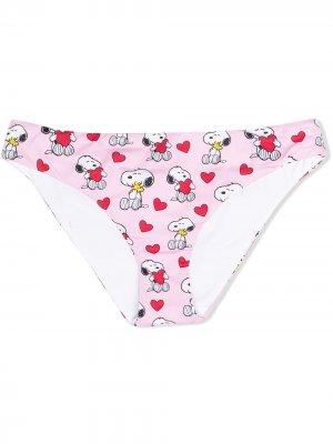 Трусы-брифы Madame Snoopy Mc2 Saint Barth Kids. Цвет: розовый