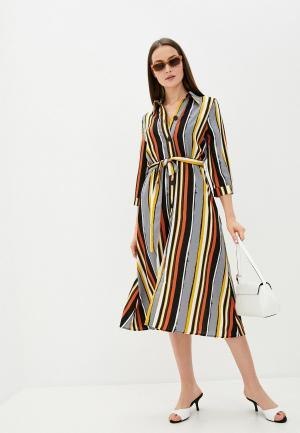 Платье Sweewe. Цвет: разноцветный