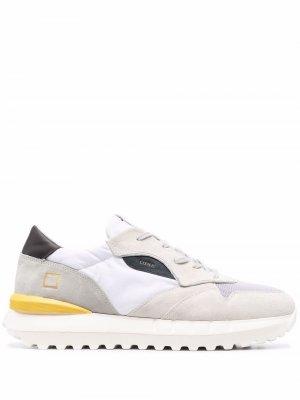 Кроссовки Luna со вставками D.A.T.E.. Цвет: белый