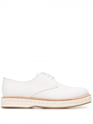Churchs туфли дерби на плетеной подошве Church's. Цвет: белый