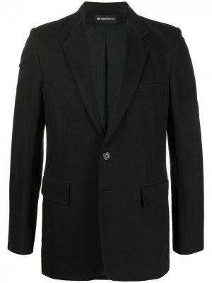 Однобортный пиджак Ann Demeulemeester. Цвет: черный