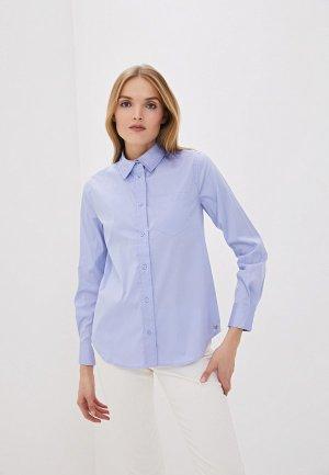 Рубашка Twinset Milano. Цвет: голубой