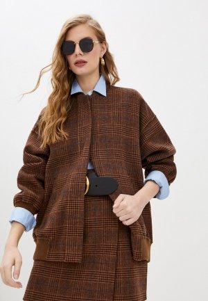 Куртка Paul & Joe. Цвет: коричневый