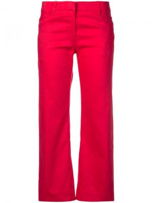Teddy cropped trousers A.L.C.. Цвет: красный