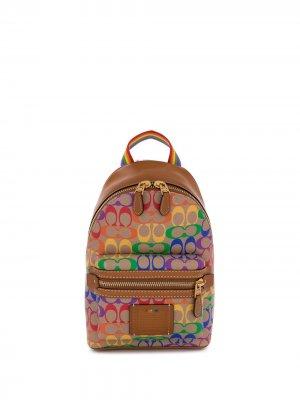 Рюкзак Academy с монограммой Coach. Цвет: нейтральные цвета