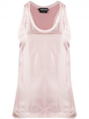 Спортивный топ Tom Ford. Цвет: розовый