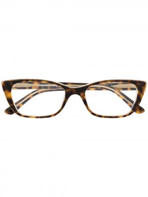 Очки в оправе черепаховой расцветки Vogue Eyewear. Цвет: коричневый
