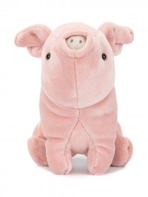 Мягкая игрушка в виде свиньи Jellycat. Цвет: розовый