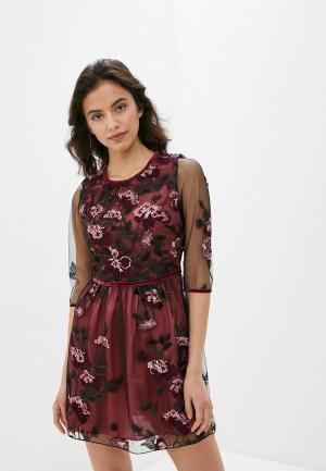 Платье Blugirl Folies. Цвет: бордовый