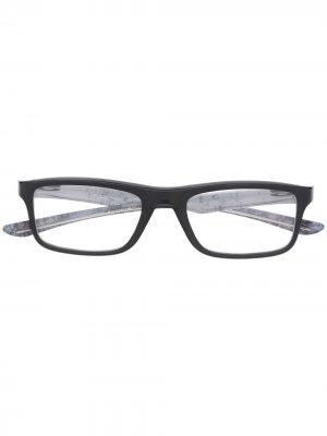 Очки Plank 2.0 Oakley. Цвет: черный