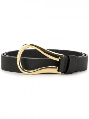 Ремень с пряжкой-петлей B-Low The Belt. Цвет: черный