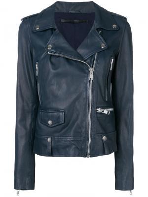 Seattle biker jacket Munderingskompagniet. Цвет: синий